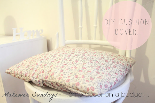 floral, cushion, diy, budget, home, bedroom, decor