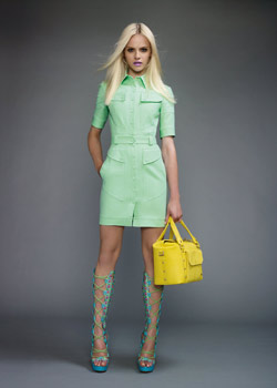 Mint spring Versace