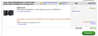 sony nex-5 black friday deal