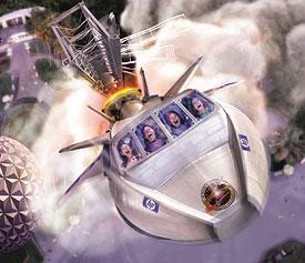 Epcot Center Disney Mission Space