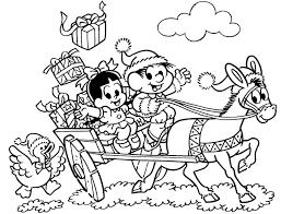 desenho turma da monica no natal rosinha e chico bento