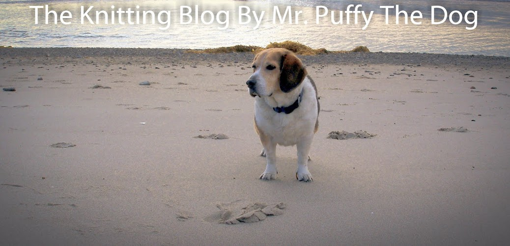 The Knitting Blog by Mr. Puffy the Dog