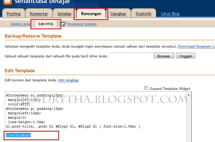 CSS untuk Label blog
