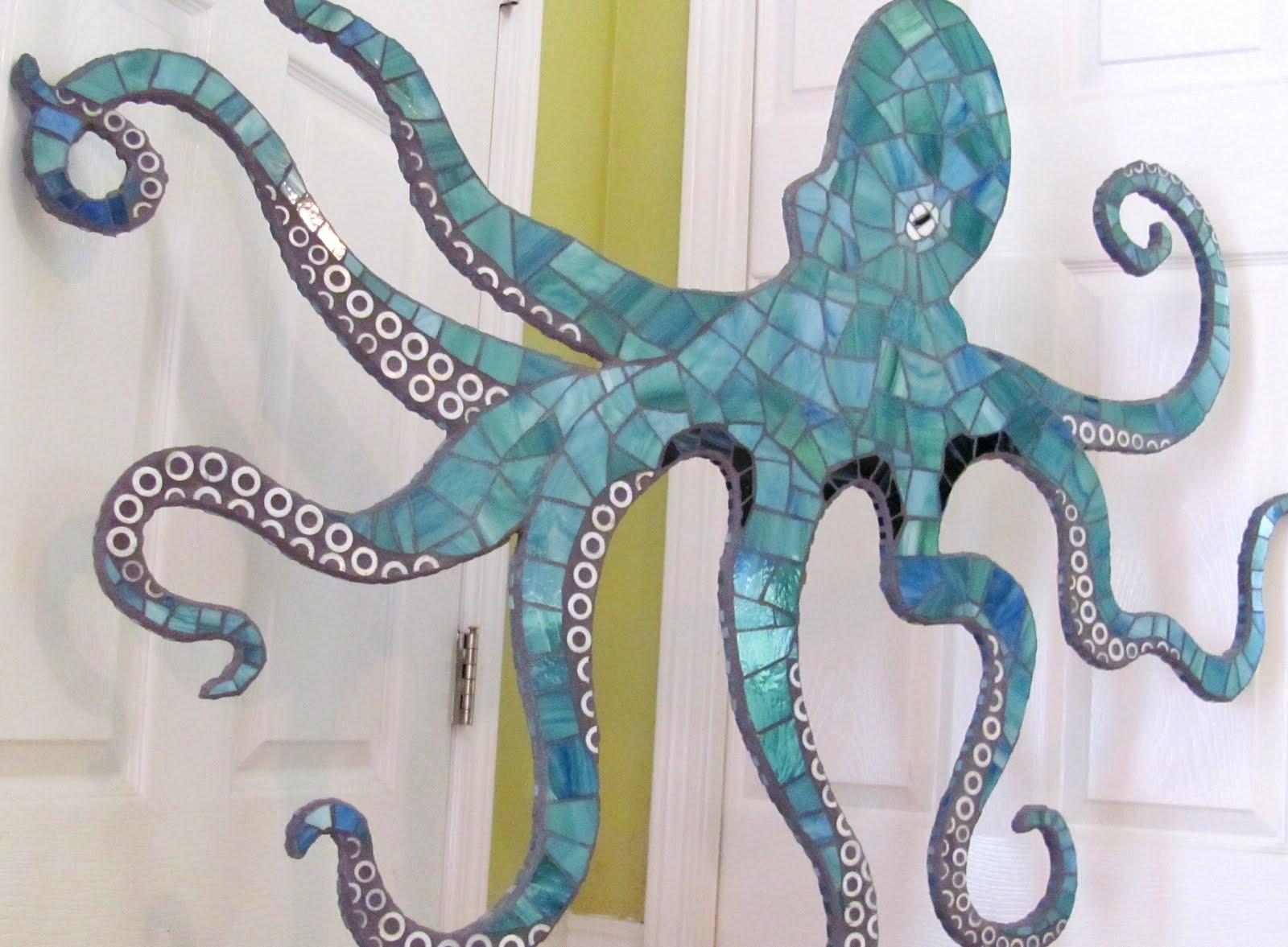 Superb Mosaic Octopus