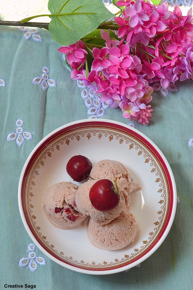 icecream with evaporated milk