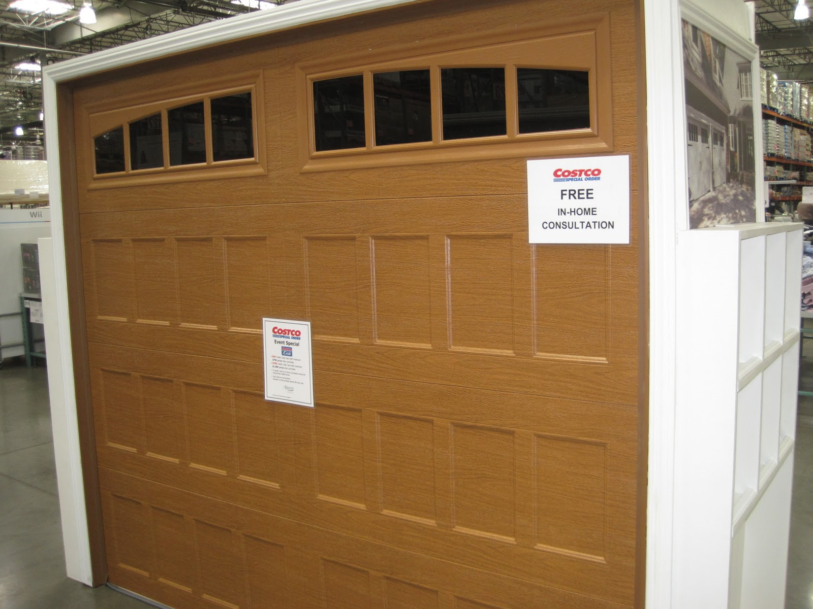 1200 #704A24 Garage Doors Unlimited: Garage Door Road Show At Costco! pic Garage Doors At Costco 36911600