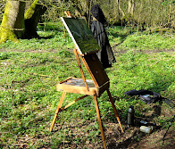 Video - using a French easel