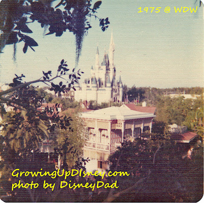 Growing Up disney magic kingdom 1975