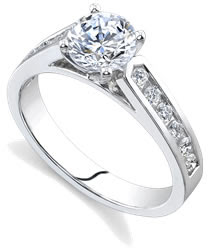 emerald cut diamonds engagement rings