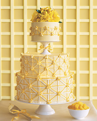 Wedding Cakes With Fresh Lemon