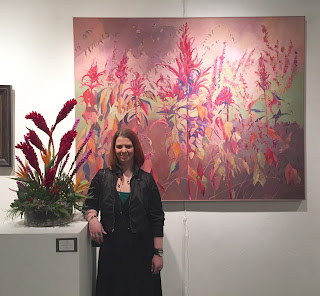 Love Lies Bleeding by Gail Fox interpreted by Jessica Kelly of Stein Your Florist Co.