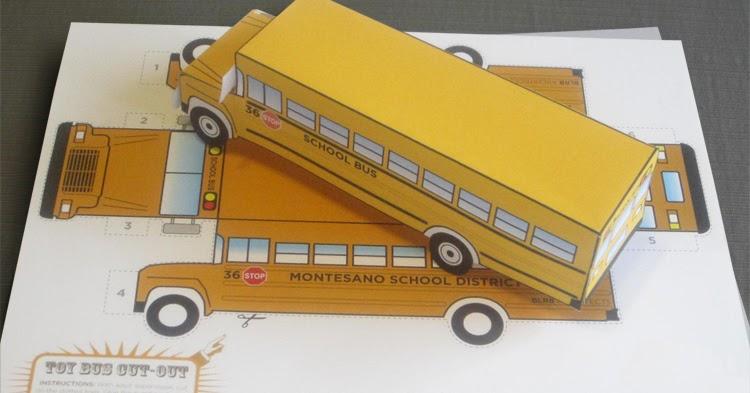 Shane Sabin School Bus Cut Out