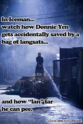 Donnie Yen Iceman pee pissing meme
