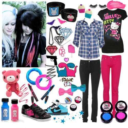Fashion Dream World How To Be A Emo