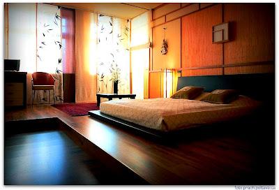 На фото интерьер спальни из проекта, реализованного студией B&L