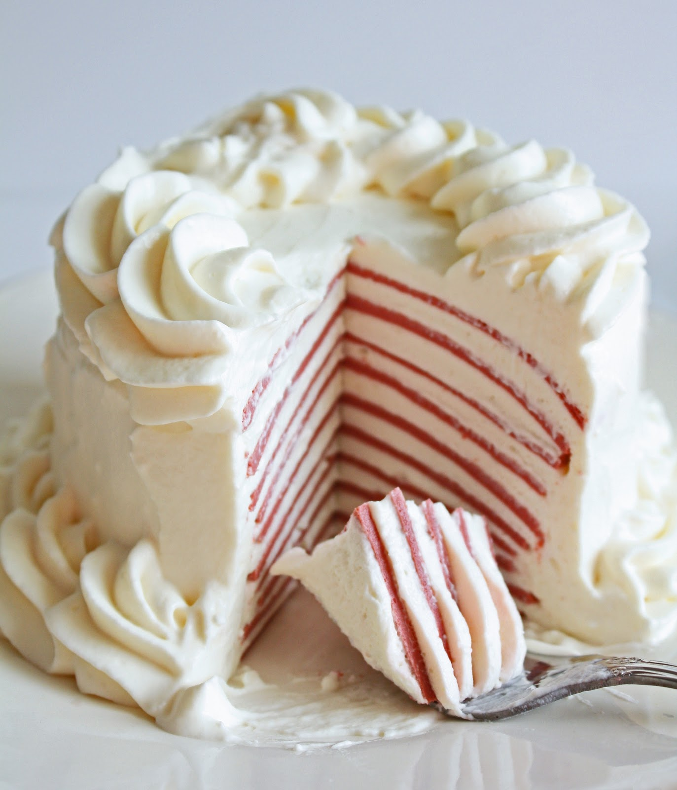 Low Carb Red Velvet Crepe Cake I Breathe I M Hungry