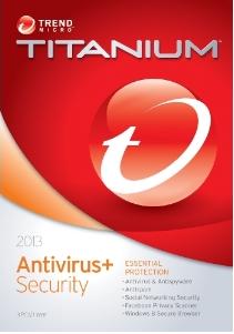 Trend Micro Titanium Antivirus + 2013 free download