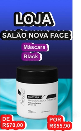 Máscara Black Platinum