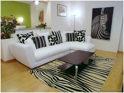 Exceptionnel ZEBRA LIVING ROOM DESIGN ...
