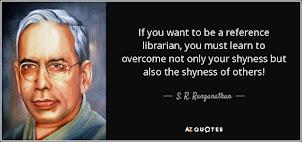 Happy Librarian's Day 2018- Padamshri Dr. S.R.Ranganthan's 126th Birth Anniversary