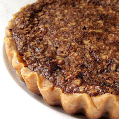Jameson-Chocolate-Walnut Tart