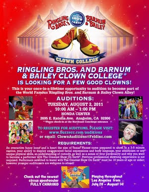 World Famous Ringling Bros Clown Alley