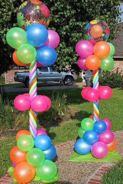 Decoración con Globos para Cumpleaños Infantiles