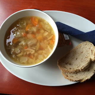 Lamb Soup with Rye Bread