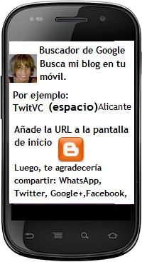 BUSCA TWITVC ALICANTE EN TU MOVIL