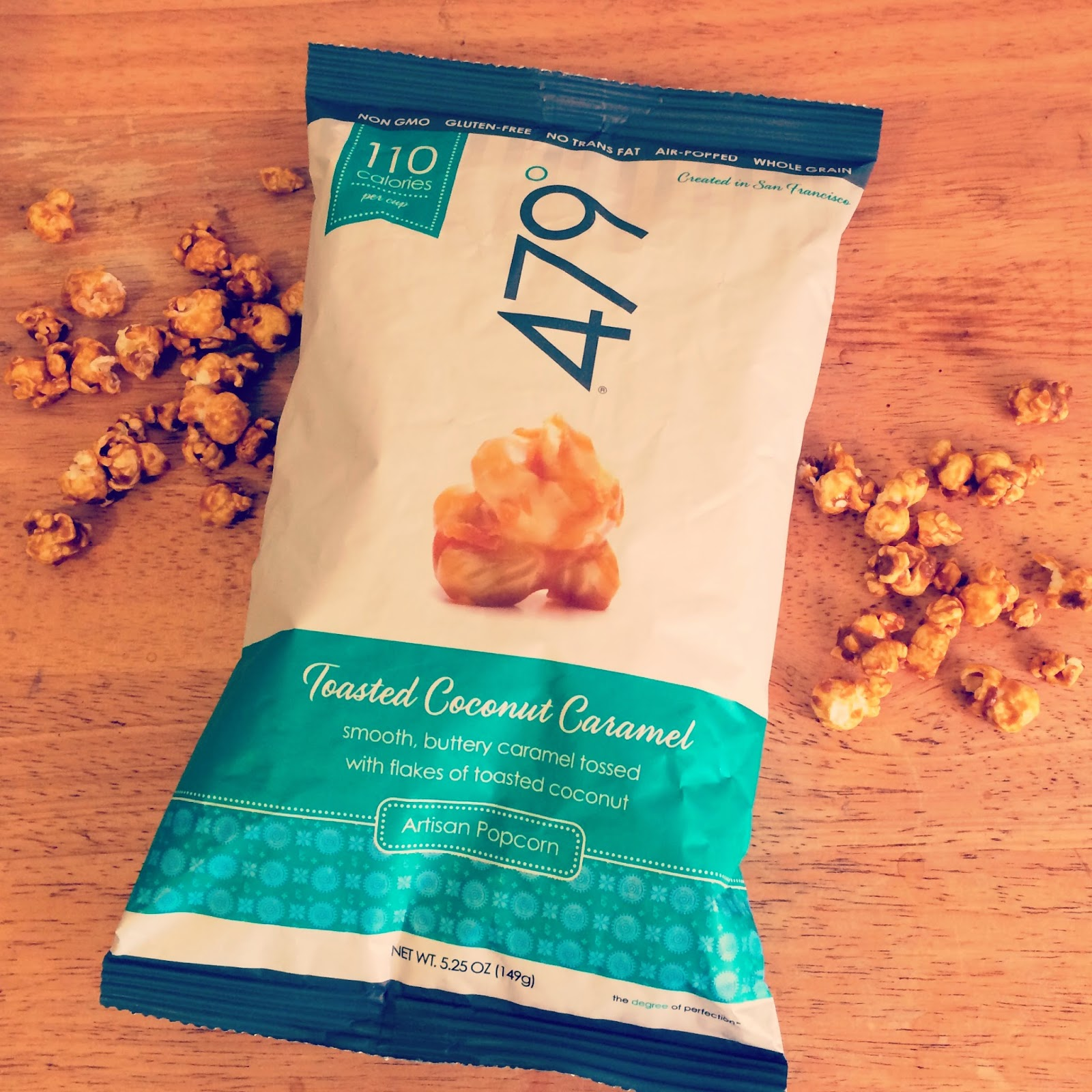 Eating Fabulously, popcorn, caramel, coconut, CVS, NYC, California, Christopher Stewart