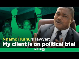 Let's meet in court - Nnamdi Kanu's lawyer tells group