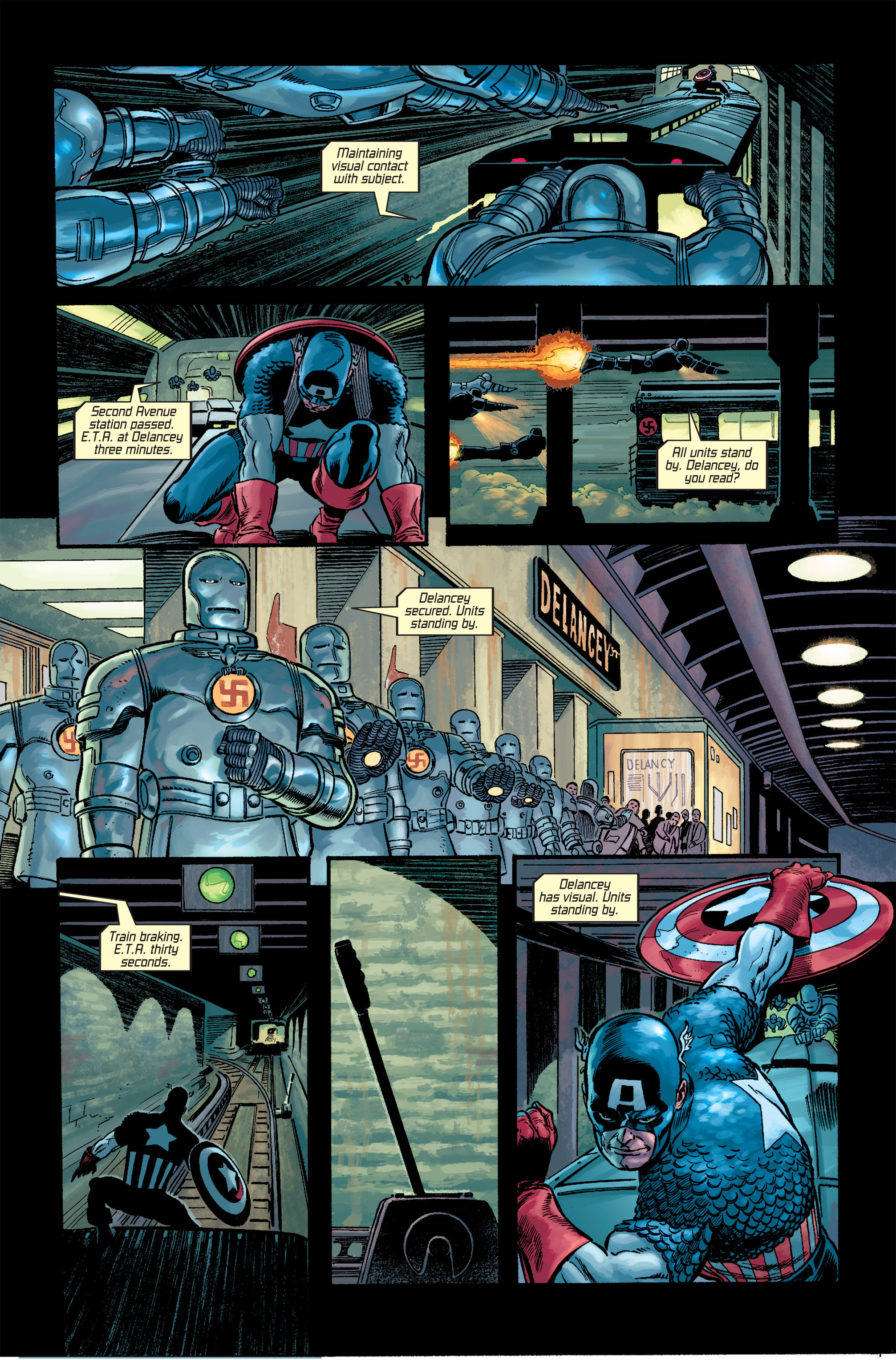 Captain America (2002) Issue #18 #19 - English 11