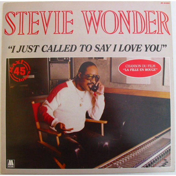 45cat - stevie wonder - i just called to say i love you