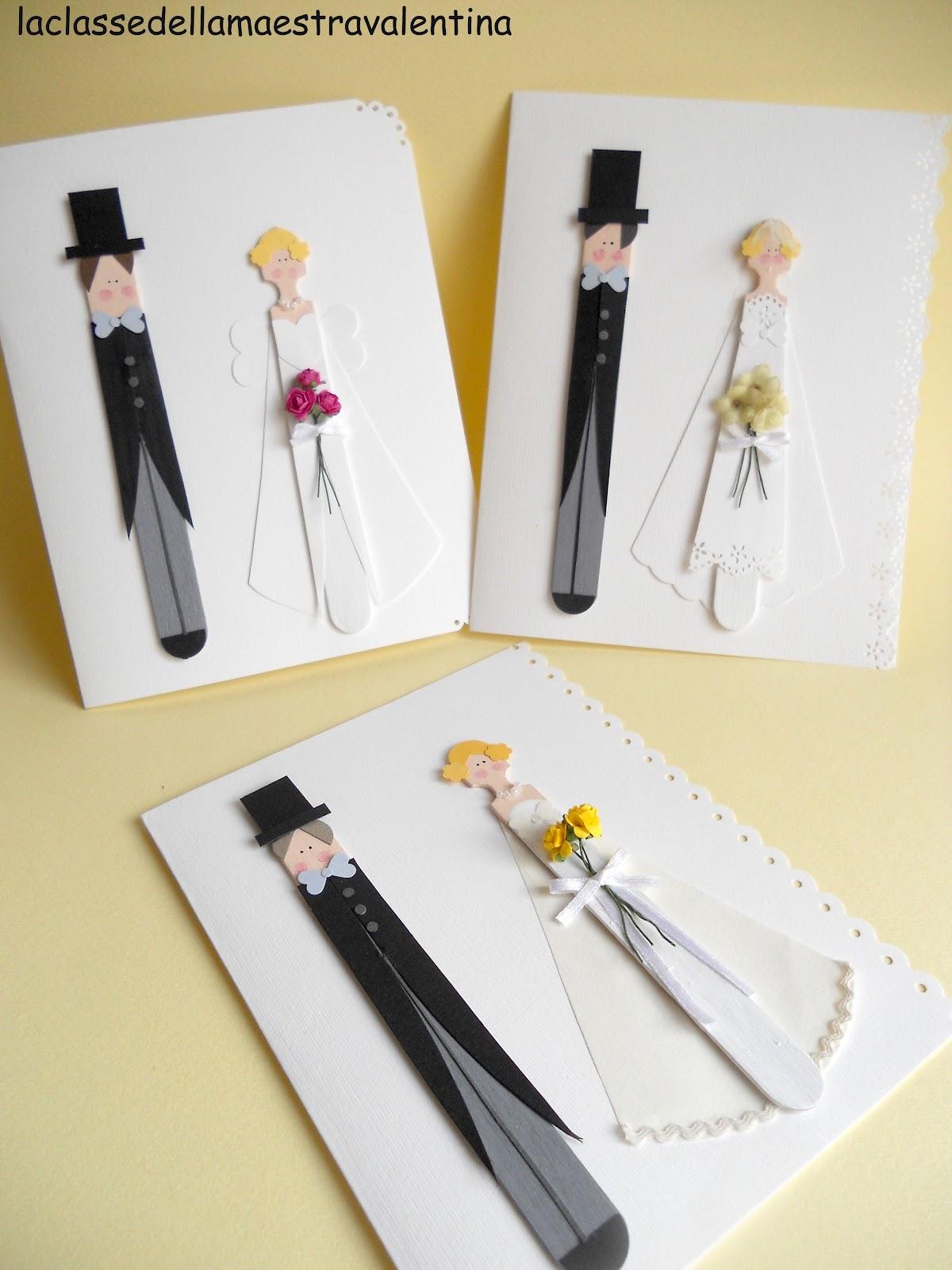 La classe della maestra valentina biglietti per matrimonio for La maestra valentina
