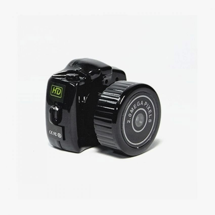 Mini DV Camcorder Model Y2000 - 2MP - Hitam
