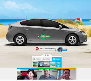 Toyota Collaborator, Car Building App, Google Hangout
