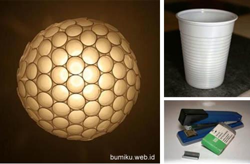 Cara membuat lampu gantung dari botol minuman. tutorial memanfaatkan botol  bekas ... 9b82090beb