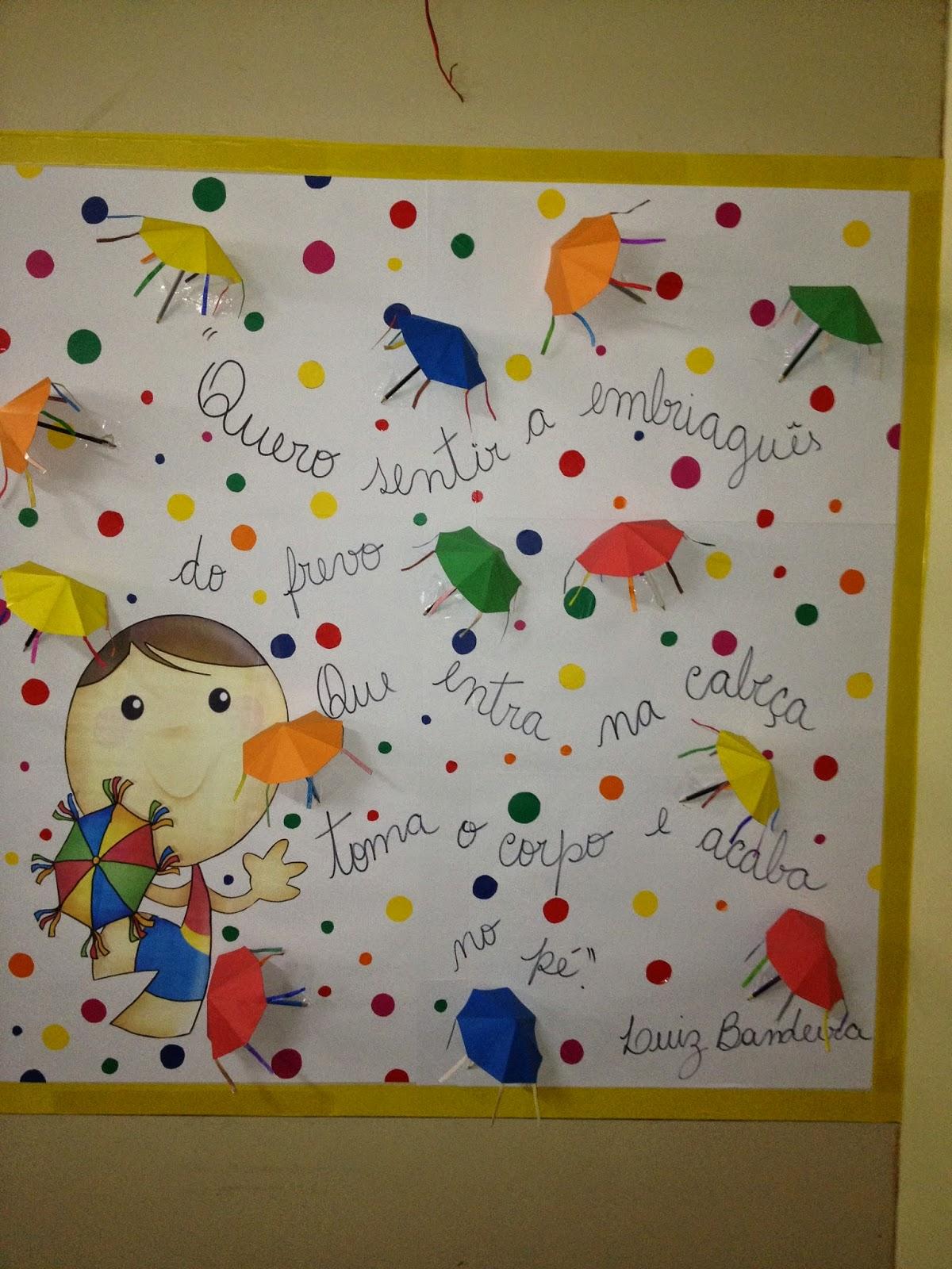 Sosprofessor atividades mural de carnaval for Mural de natal 4 ano