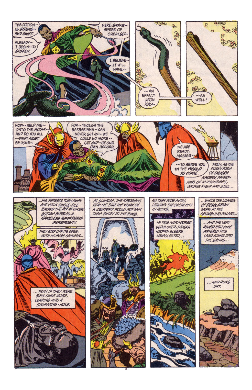 Conan the Barbarian (1970) Issue #247 #259 - English 7