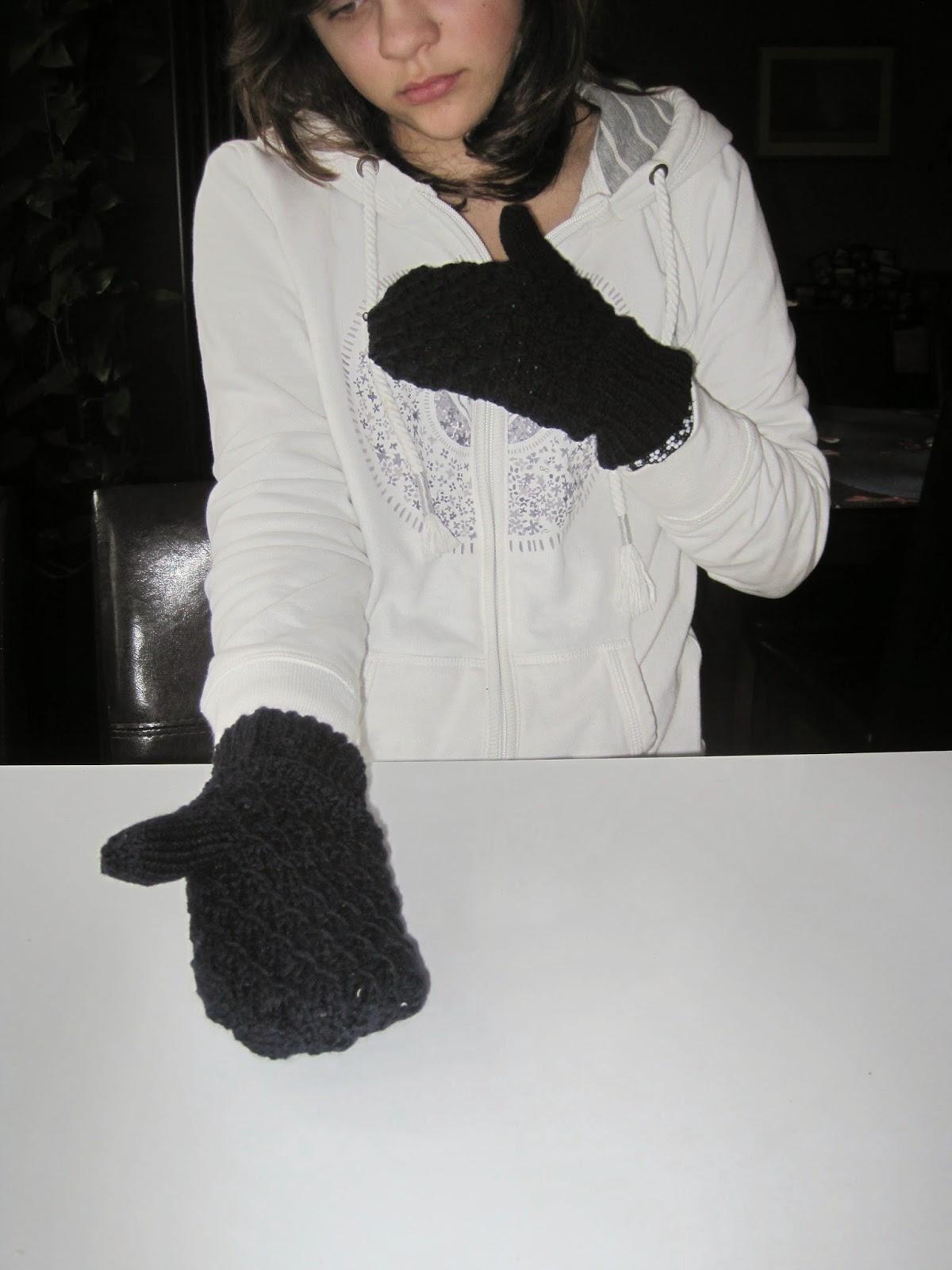 rękawiczki z jednym palcem krok po kroku diy
