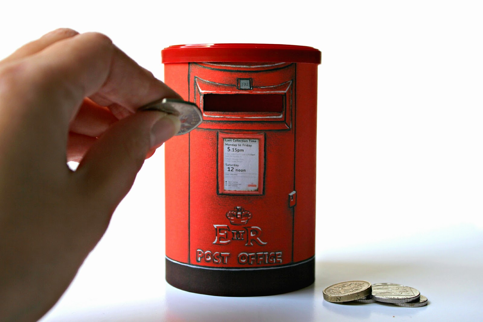 how to make a post money box rose tinted crafting