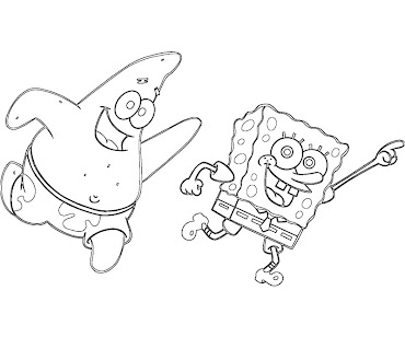 #6 Patrick Star Coloring Page