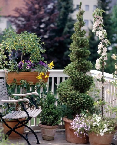 This and that in my treasure box spring inspiration for Apartment patio garden design ideas