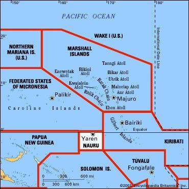 Sillibuss Micronesia and Nauru exotic destinations