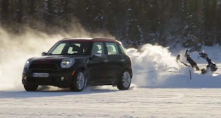 MINI Countryman WRC best on ice roads