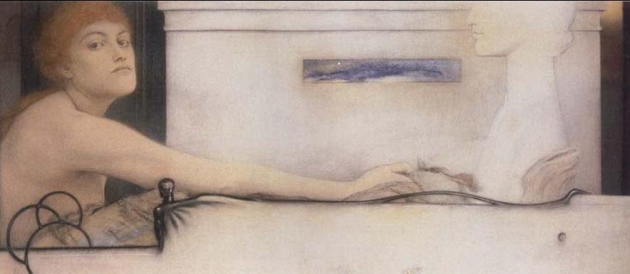 Fernand Khnopff offrande