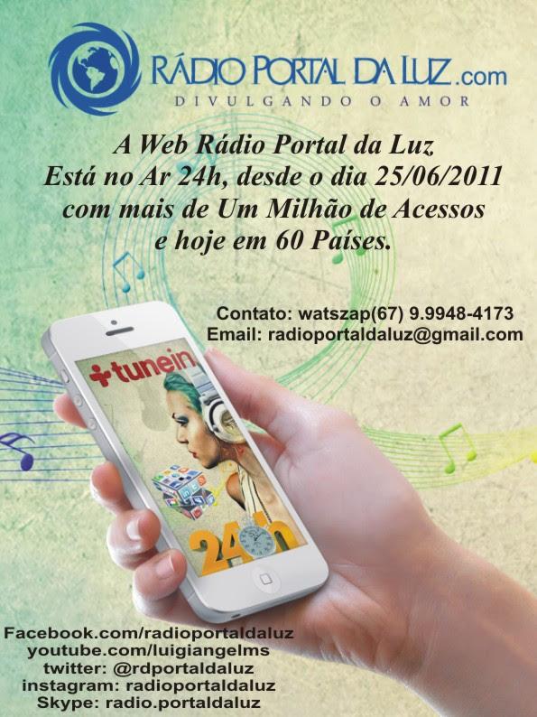 Ouça a Web Rádio Portal da Luz