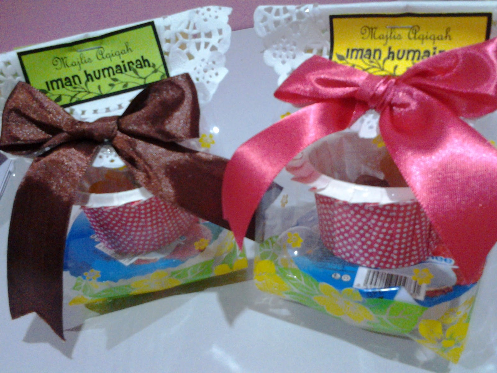 Bridezillashop for Idea doorgift untuk aqiqah