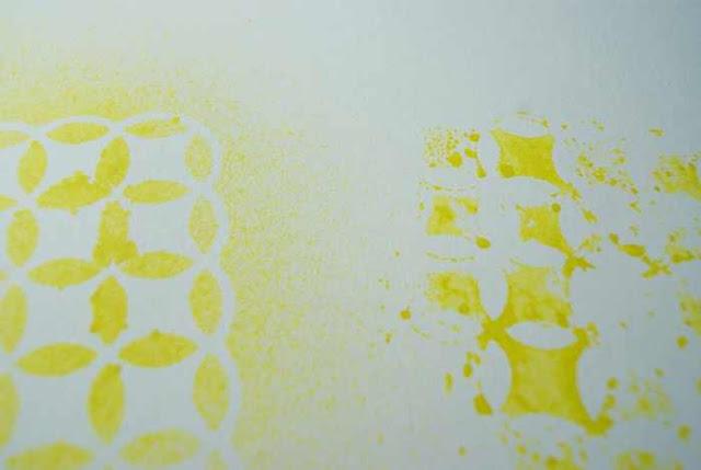 Material der Woche | www.danipeuss.de | Masks Schablonen Anleitung