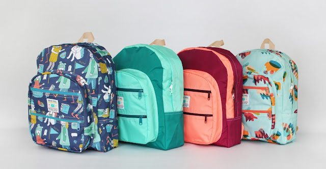 Moluyobi Threads Backpacks